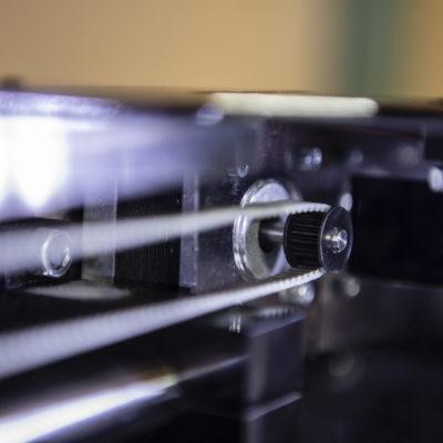 belt pulley closeup