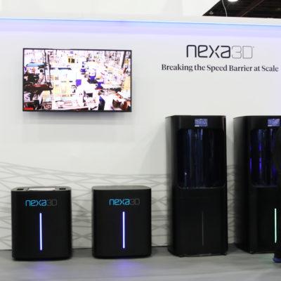 nexa3d tradeshow booth