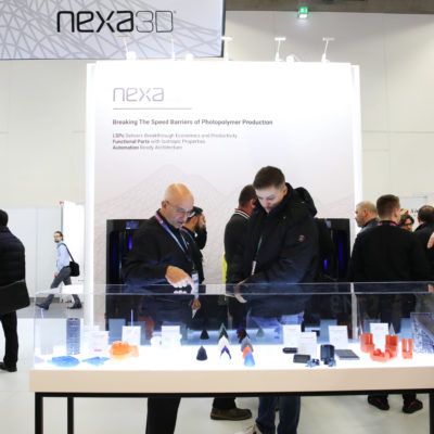 3d printing tradeshow booth