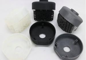 3D printed parts produced by Nexa3D printer NXE 400