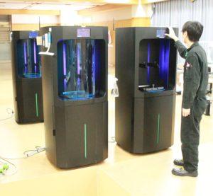 Nexa3D NXE400 3D printers