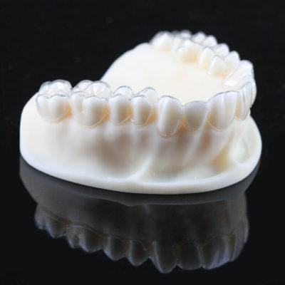 keymold ultra ivory printed teeth