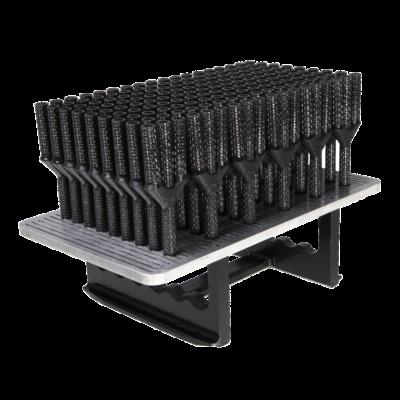black 3d printed manifolds