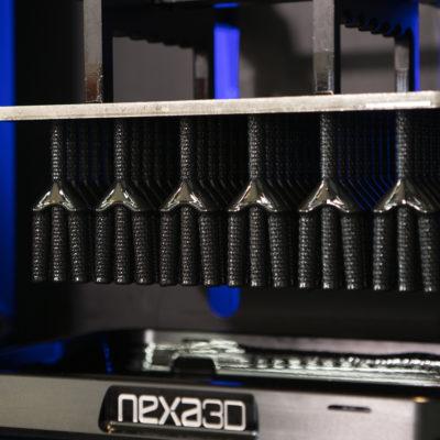 photoplastic 3d printer close-up