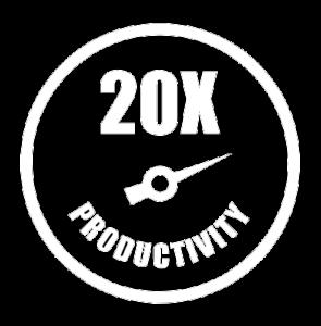 20x Productivity