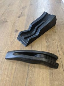 3d printed mold tool with part