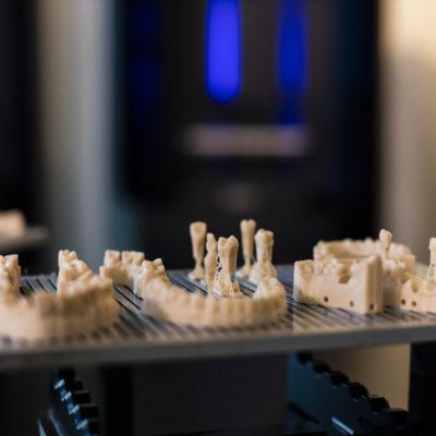 ultrafast production of dental prosthetics