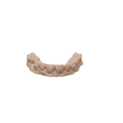 additively manufactured thermoformed dental model
