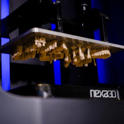 additive manufactured dental model applications