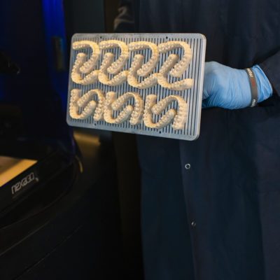 additive manufactured dental prosthetics